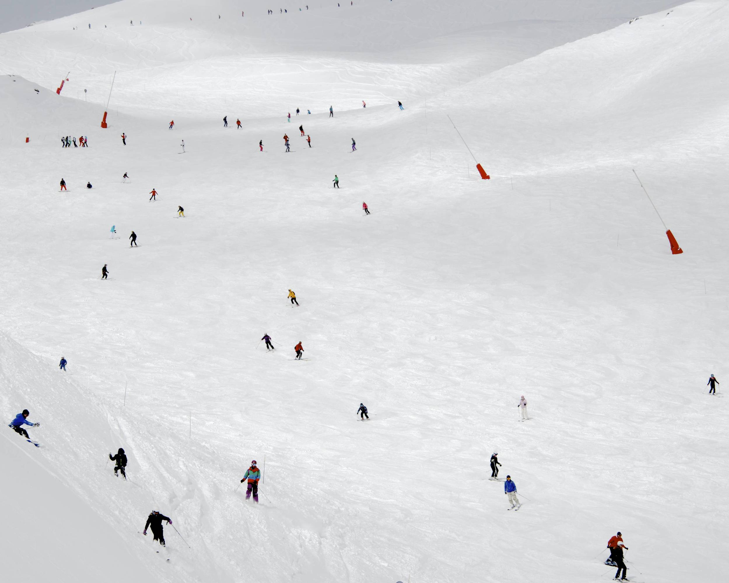 Crowded Slopes III, 2015
