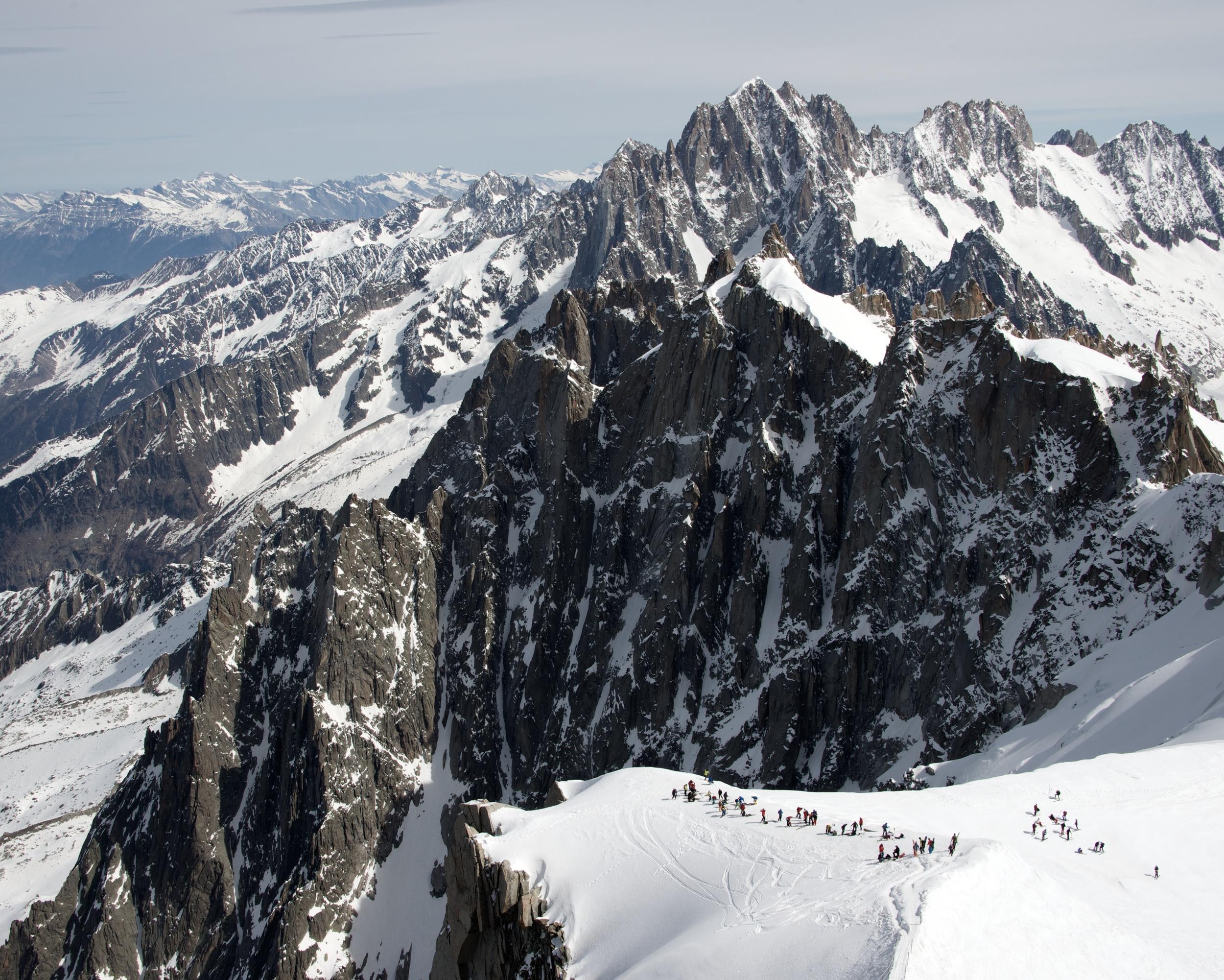 Chamonix Ridge, 2014