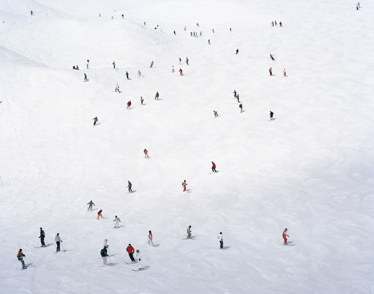 Crowded Slopes I, 2008