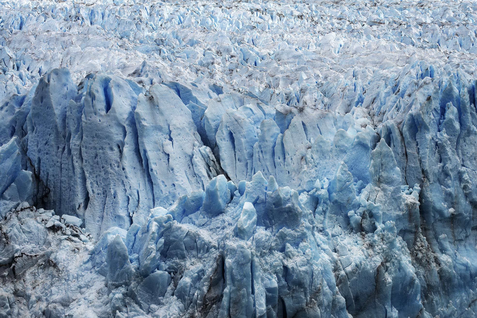Flowing Glacier, Patagonia, 2016
