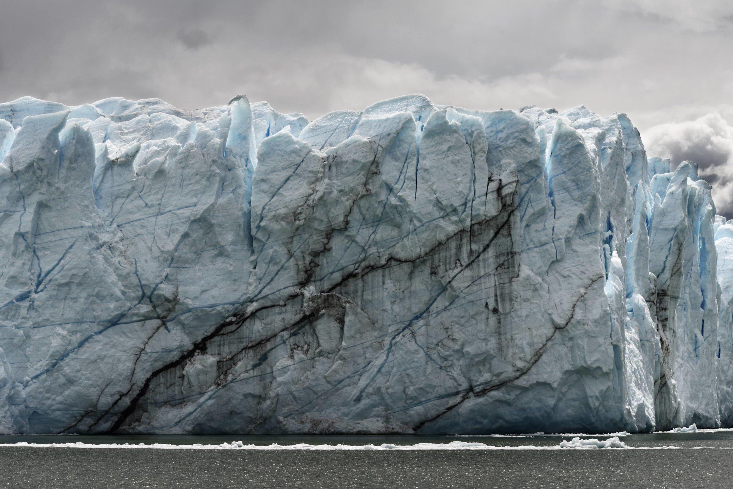 Glacier Wall, Patagonia, 2016