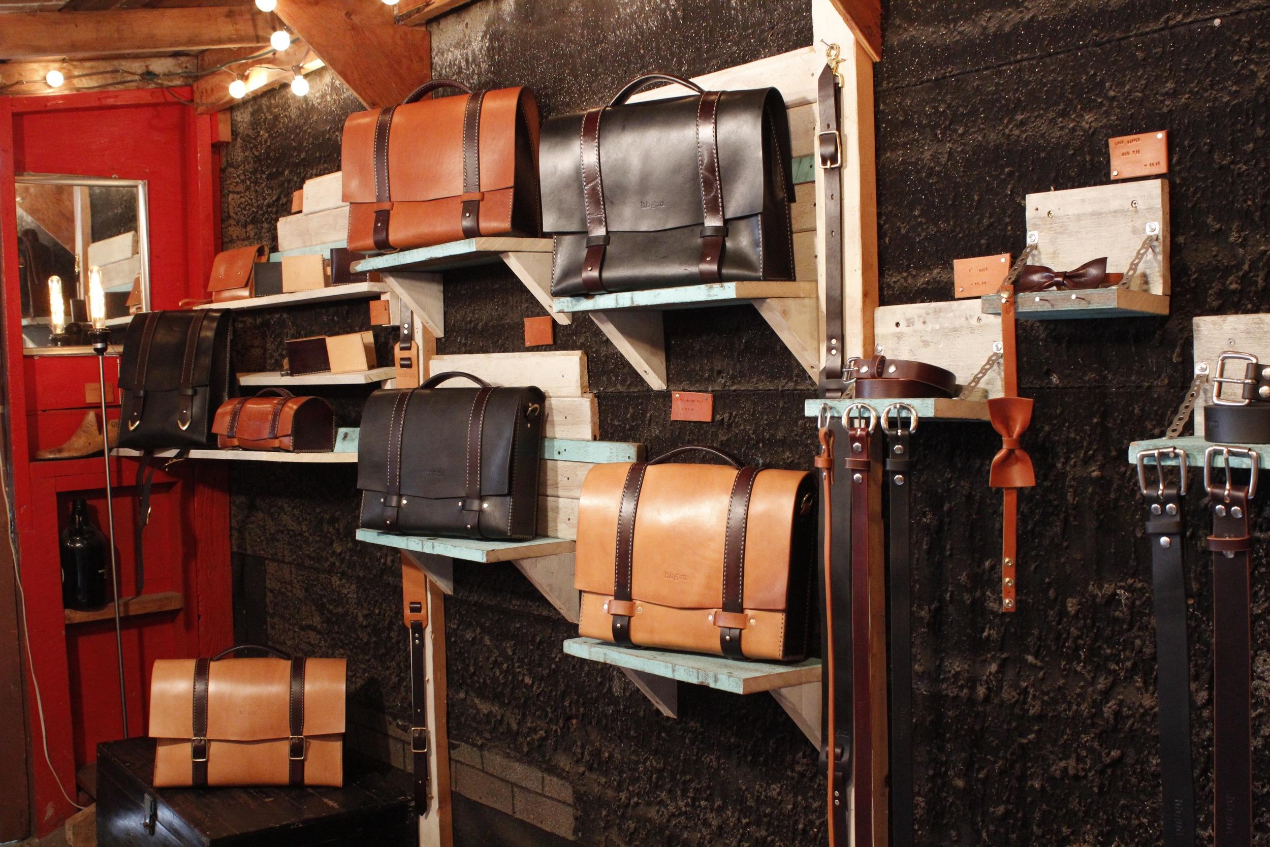 bb gun leather shop