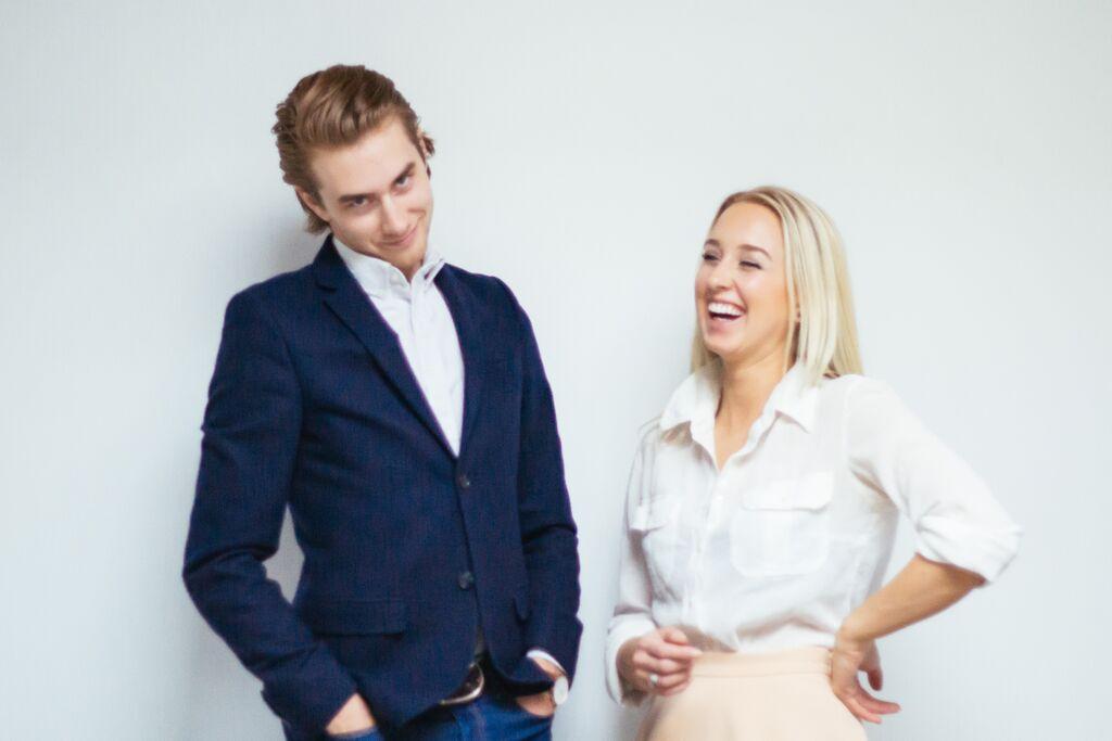 Sara and her brother, Sean Panton