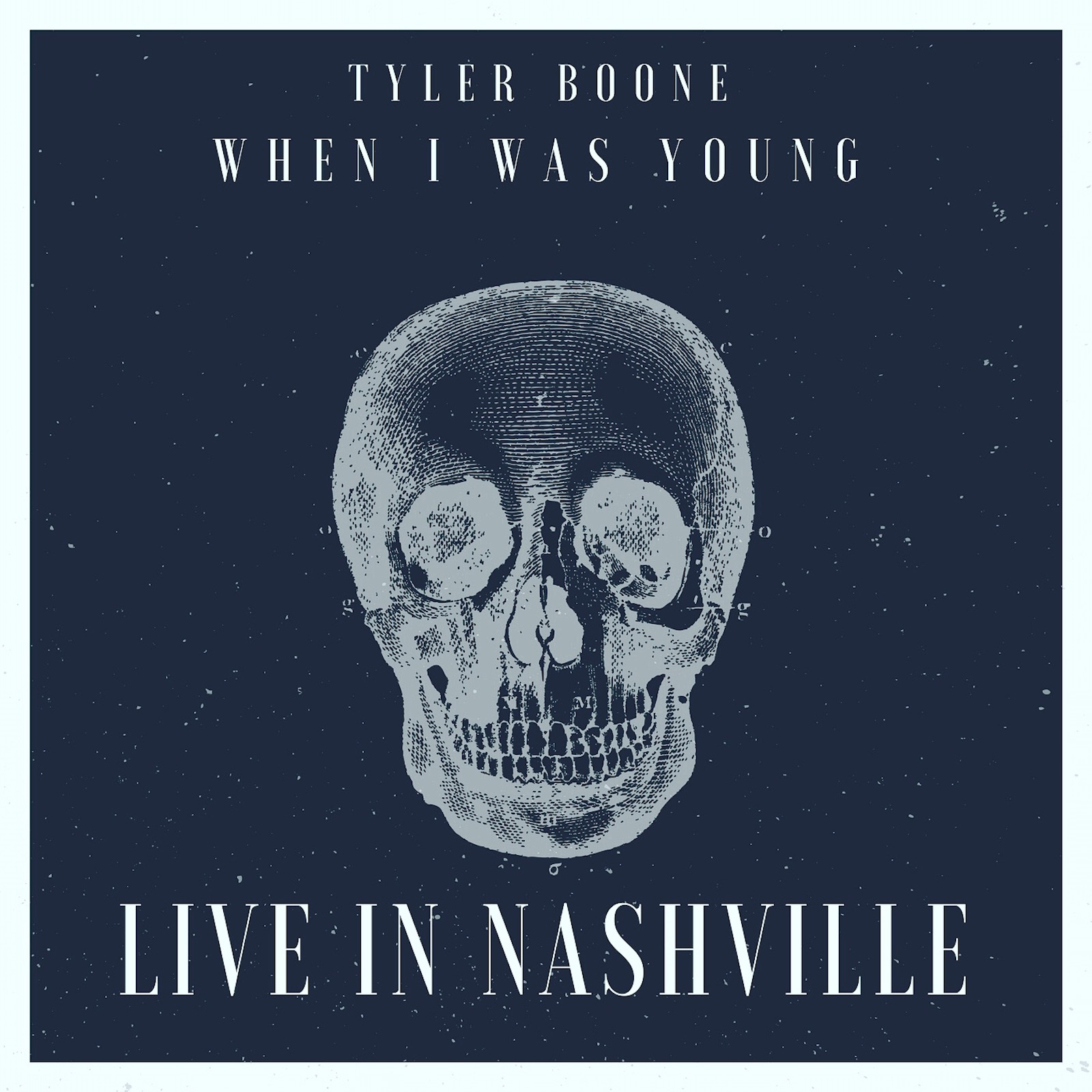 Tyler Boone - When I Was Young (Live In Nashville) Cover Art.JPG