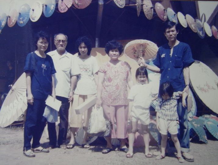 The Sudhinaraset family, 1980s.