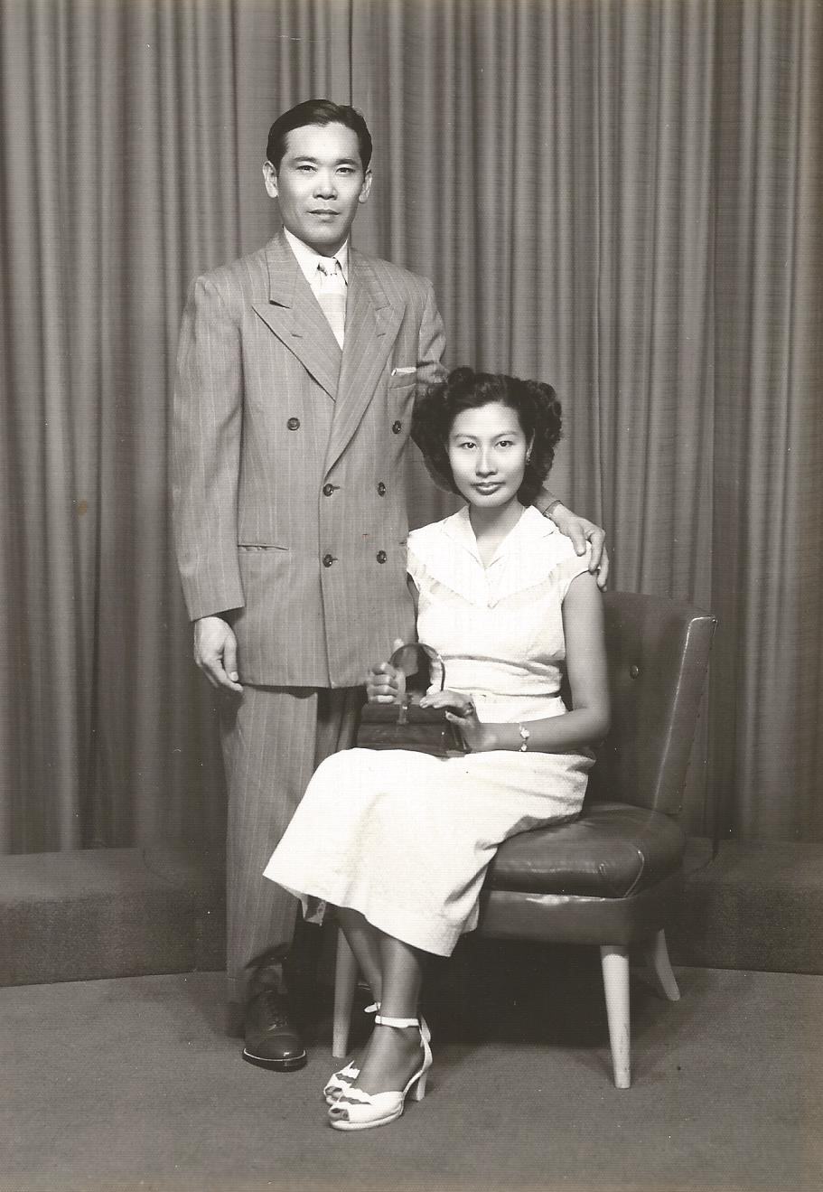 My maternal grandparents, circa 1940s