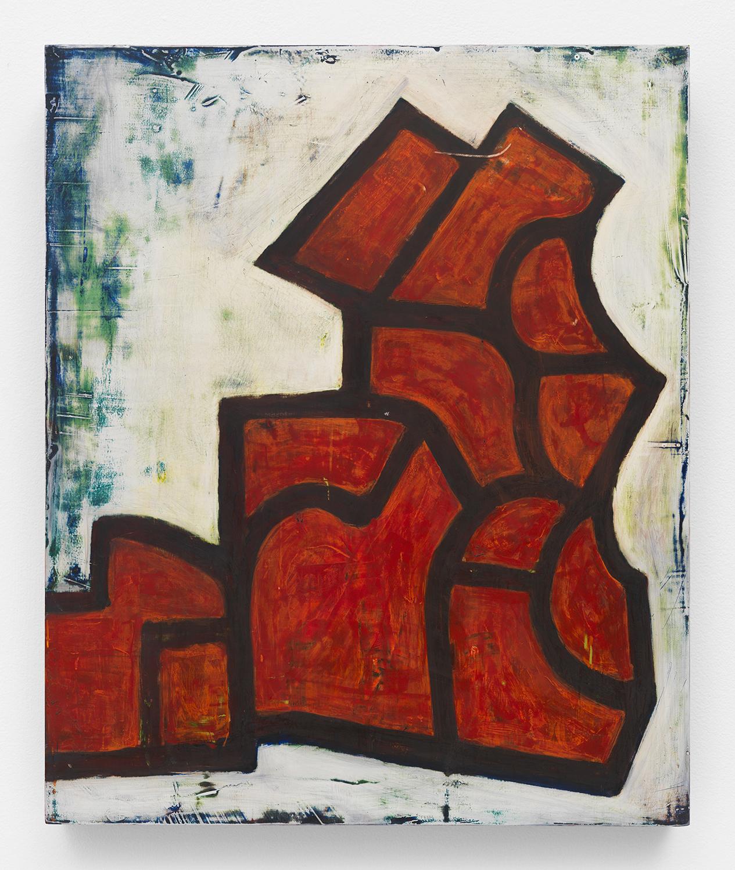 Chuck Webster   Ramshackle  2015 oil on panel 46 x 38 in