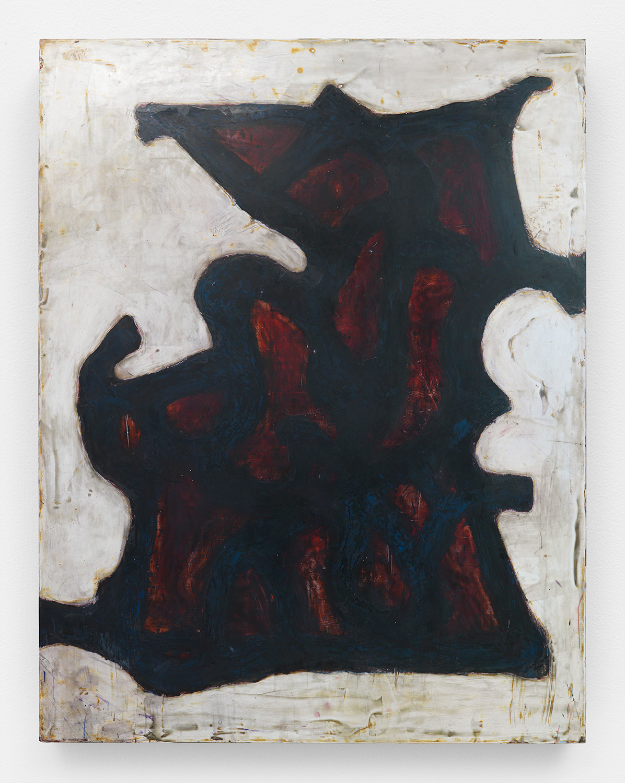 Chuck Webster   Stumblin'Man  2015 oil on panel 90 x 70 in