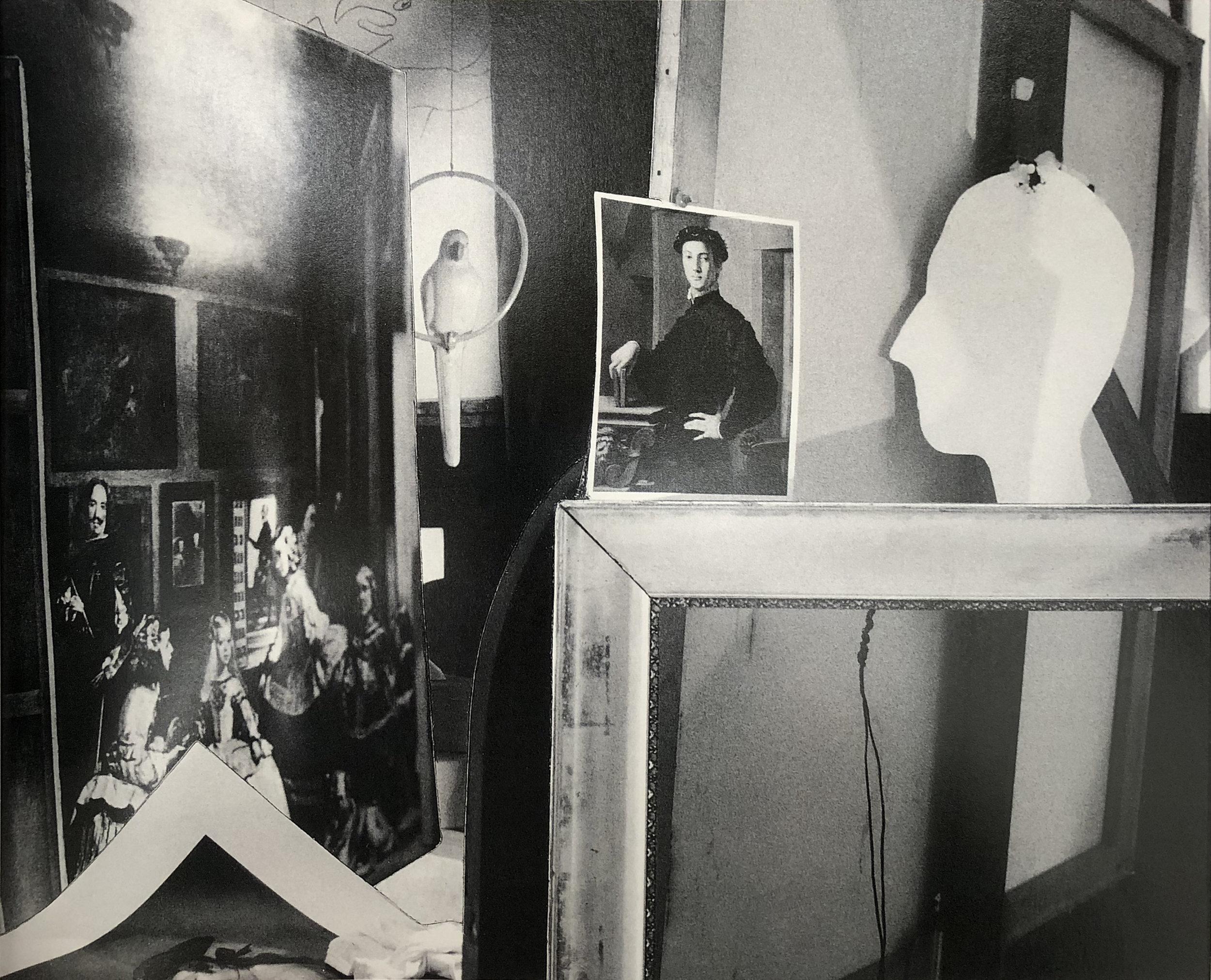 John O'Reilly  A Paper Self , 1986  polaroid montage  3.69h x 4.56w in