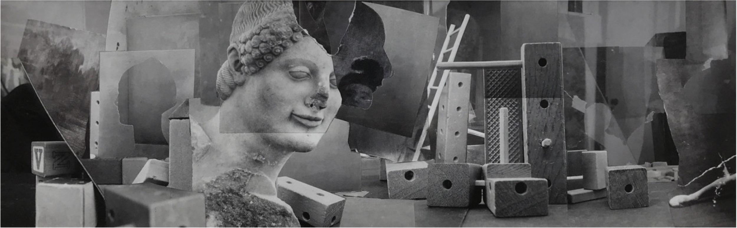 John O'Reilly  Ladder , 2005  polaroid montage  5.13h x 16.13w in