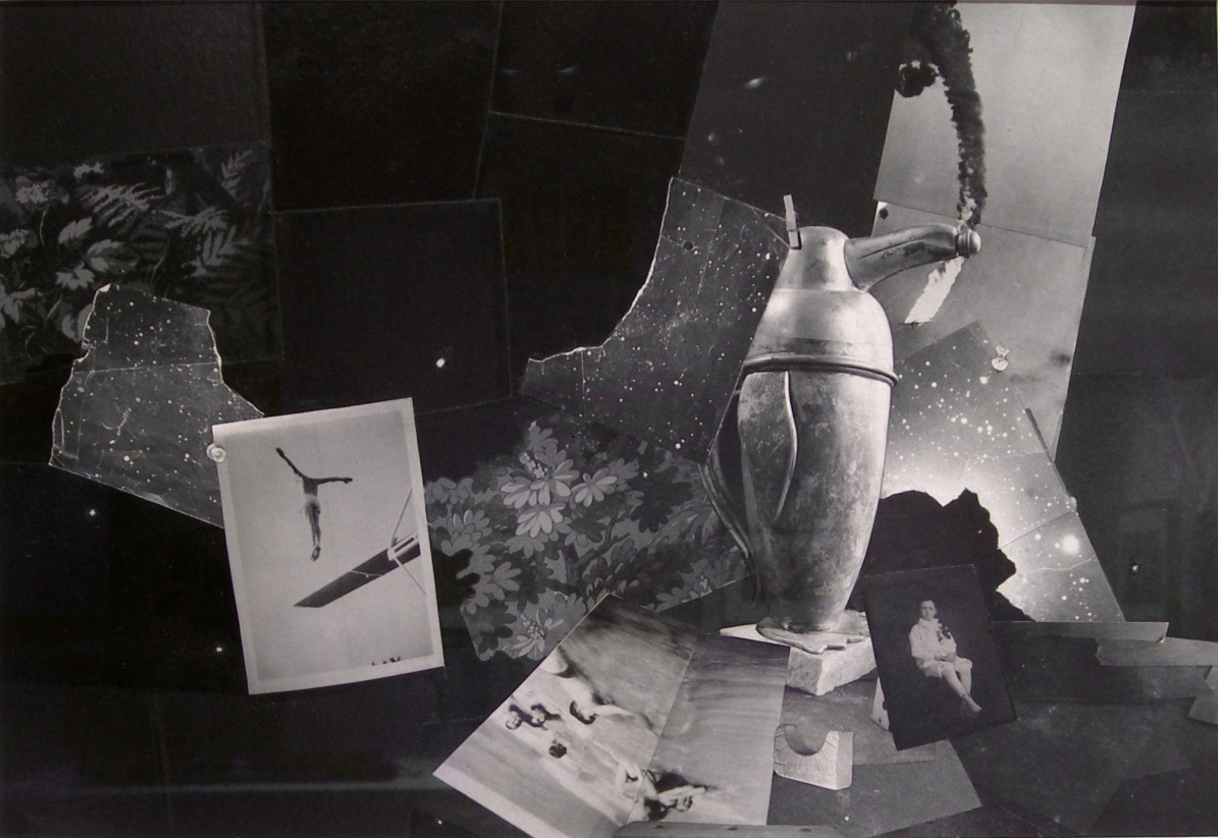 John O'Reilly   Nocturne #7 , 2006  polaroid montage  10.94h x 15.63w in