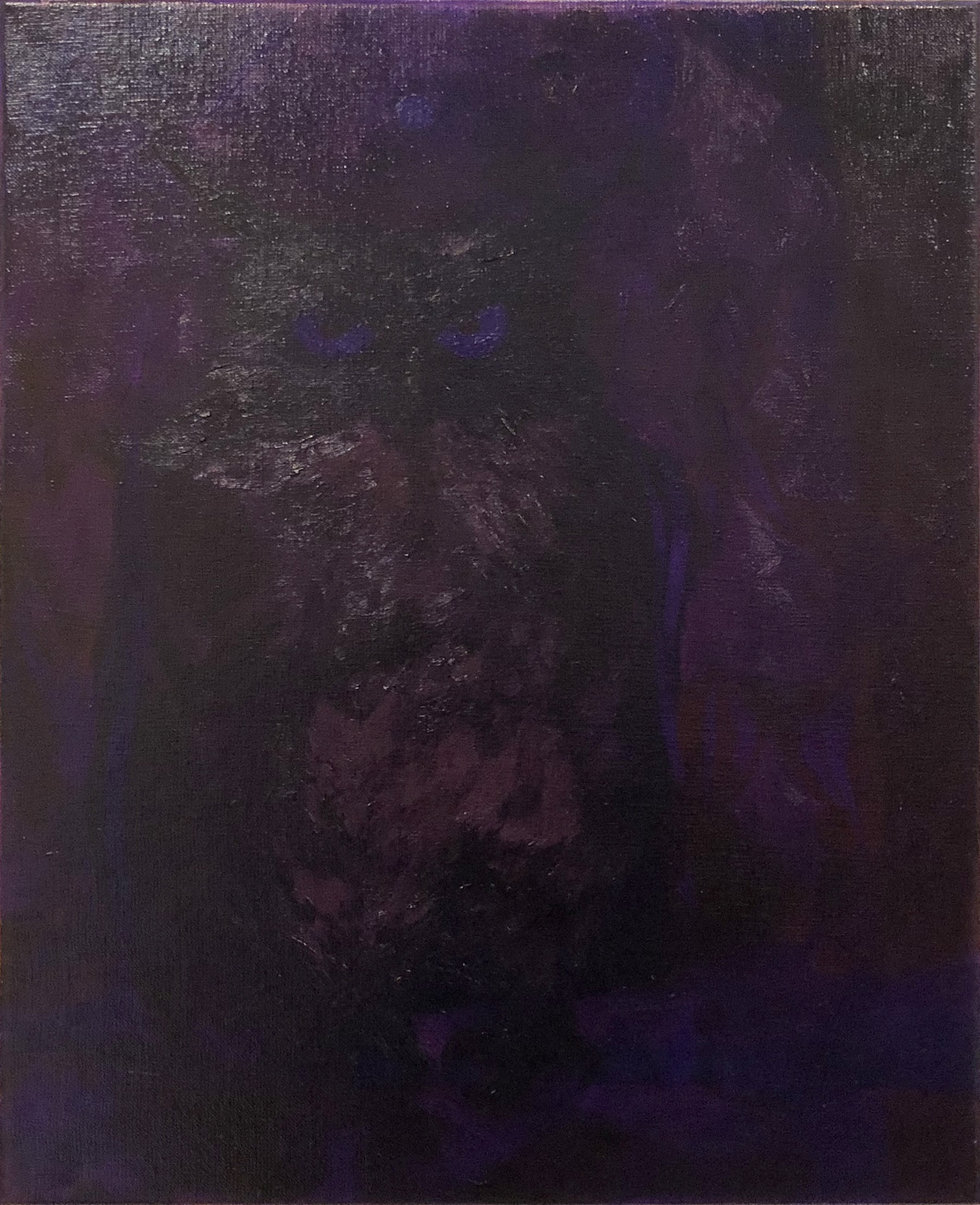 Alex Jackson  Untitled , 2018  oil on canvas  20h x 16w in