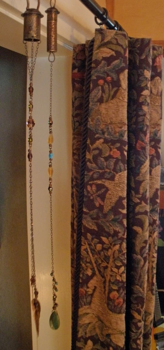 Tree Amulets Decorating the Inside