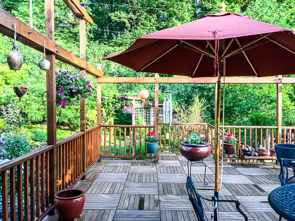 The deck sanctuary