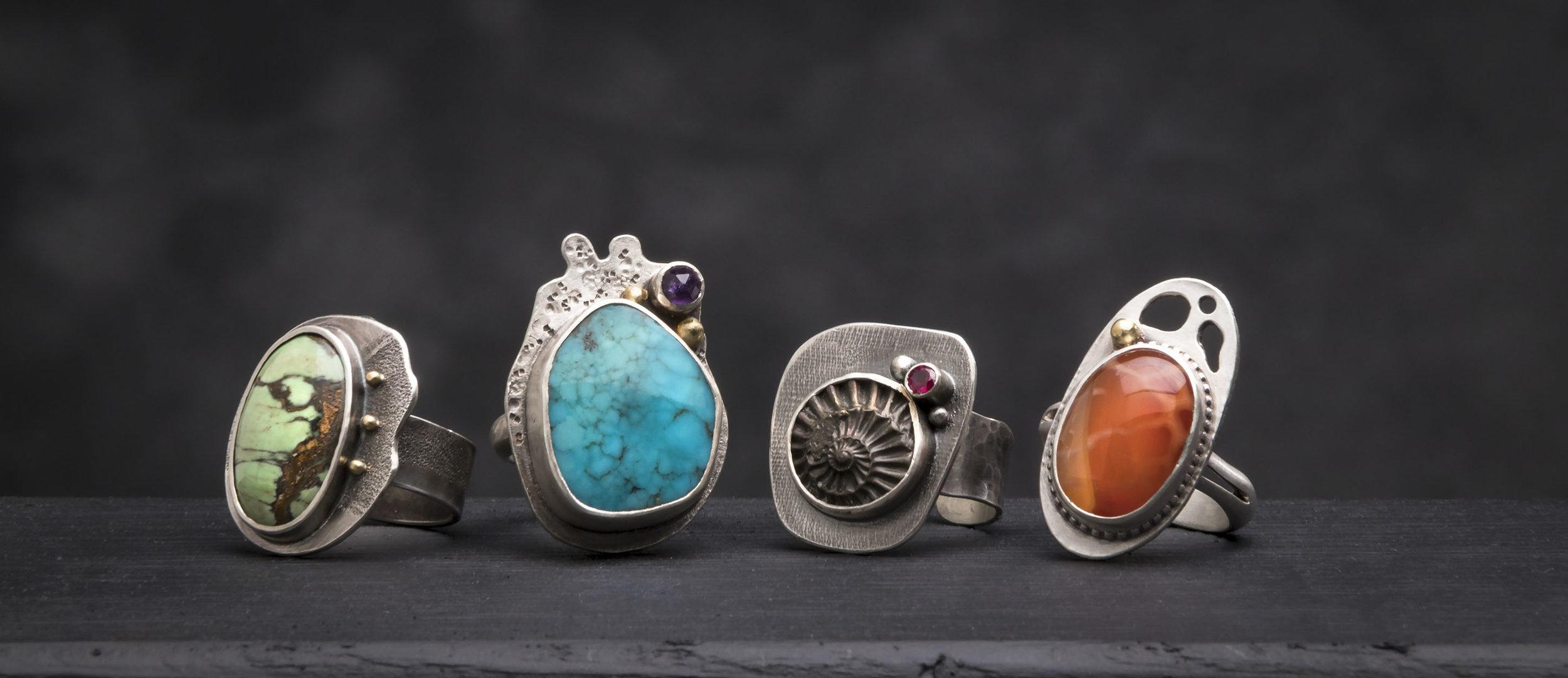 A Quartet of Rings