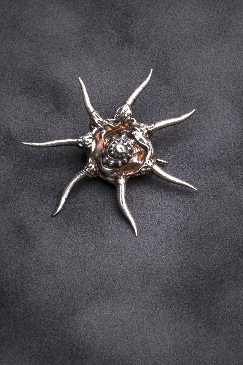 Sterling and Fine Silver Brooch