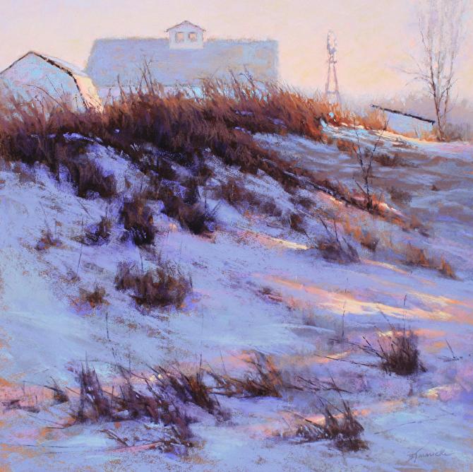 BJaenicke-Windmill on the Hill-18x18 pastel.jpg