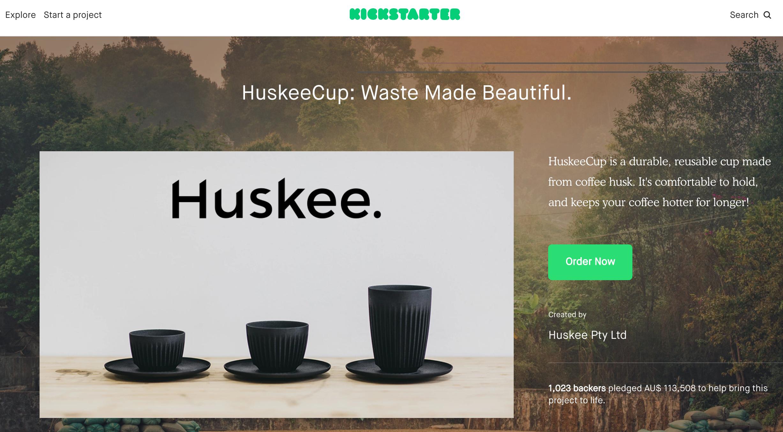 Huskee Kickstarter