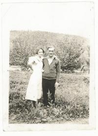 Mildred Steffens and Vincent Miller