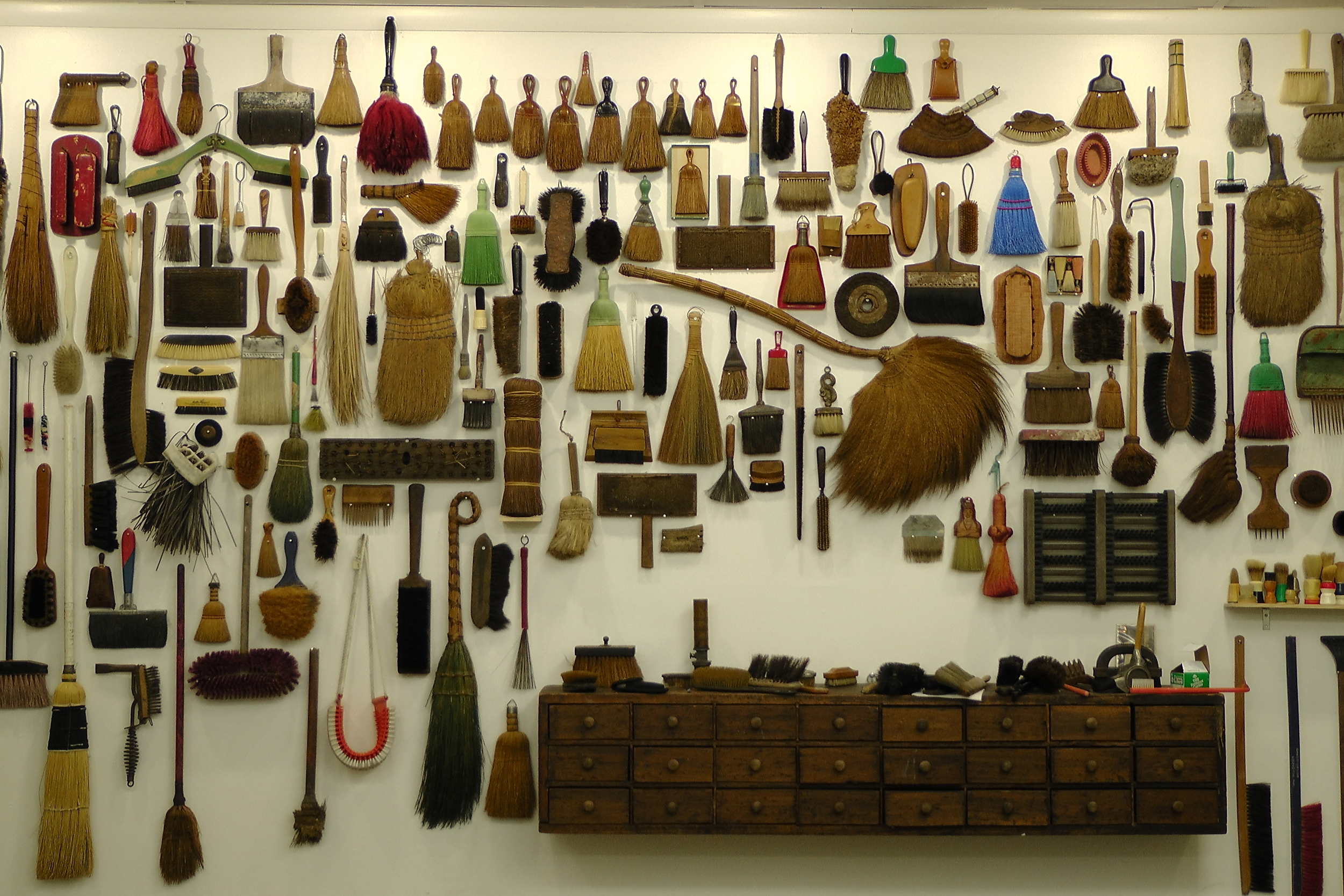 """""""Brushes, Planets, Misfits and Other Collections"""" 2014 by   Jeffrey Jenkins"""