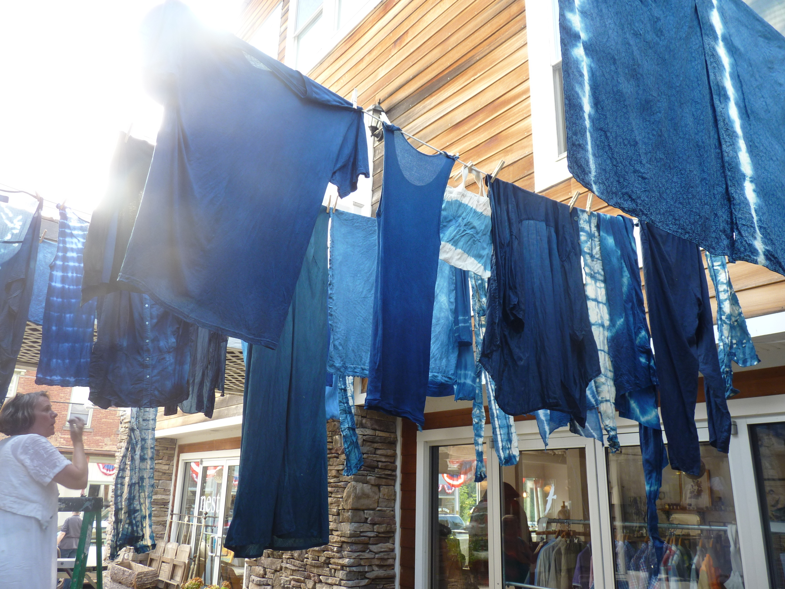 Mildred's Lane_ Town Indigo Dyeing with Allison Smith 2012.JPG