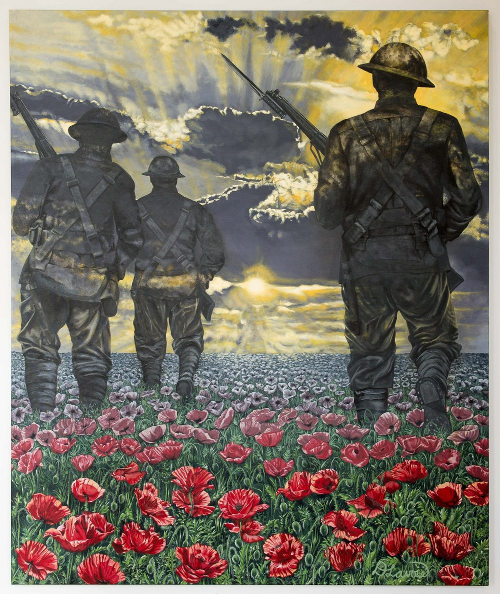 The original life size painting,  The Journey to Remembrance,  is available to purchase. Interested parties can reach her on the   contact form  . Currently it is on loan to the Military Museums of Calgary.