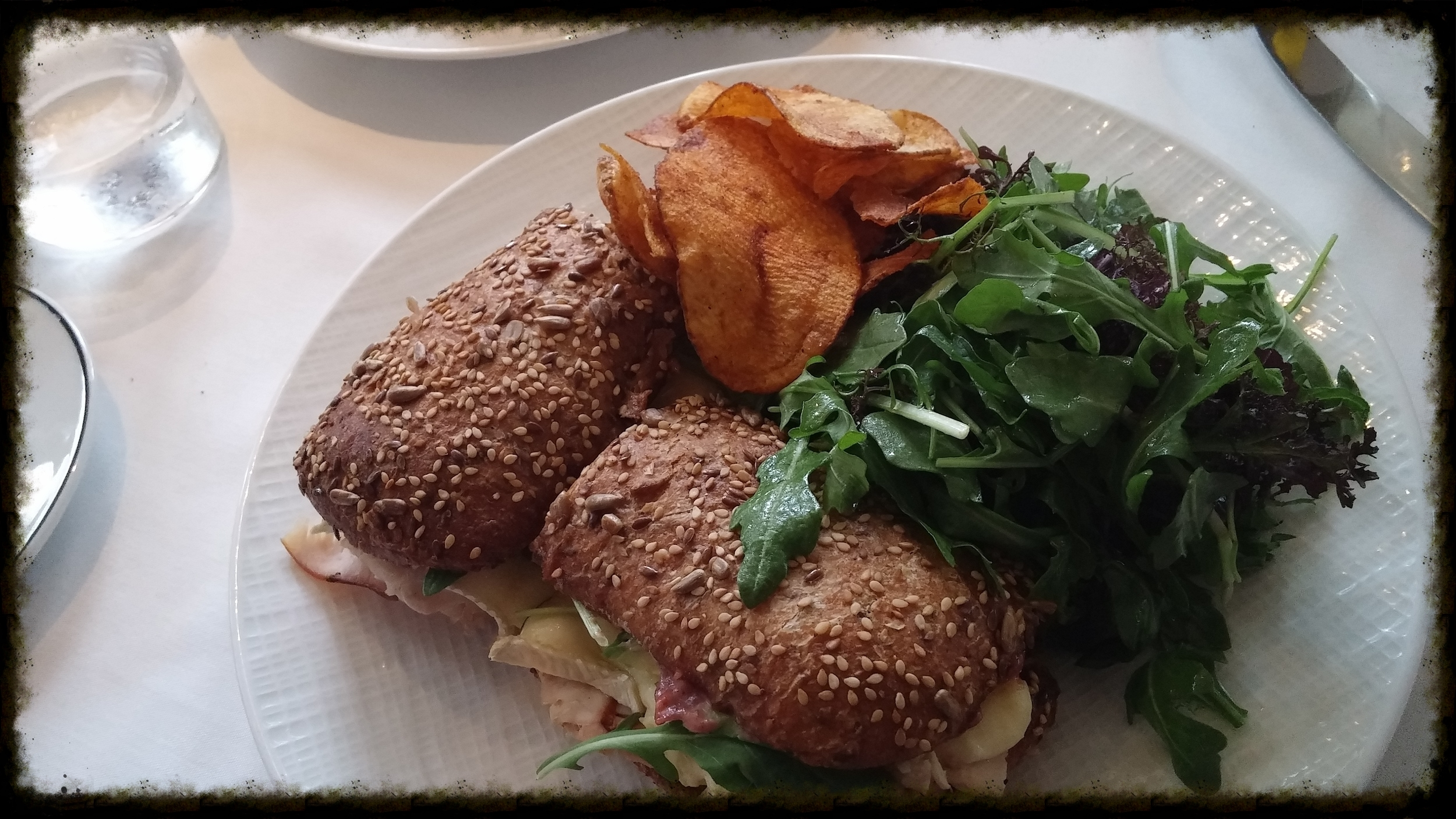 House-Smoked Turkey Breast Sandwich