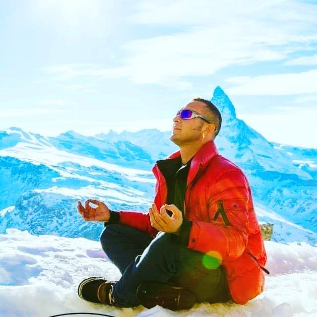 Zermatt Switzerland. . . We are part of the universe creativity.  Richie Garcia. . . #meditation #topofthemountain #energy #energyhealing #hairporn #artist #salonlife #menhair #womanhair #hair #recharge #wellness #hairstylist #fashion #businessowner #entrepreneur #lifestyle