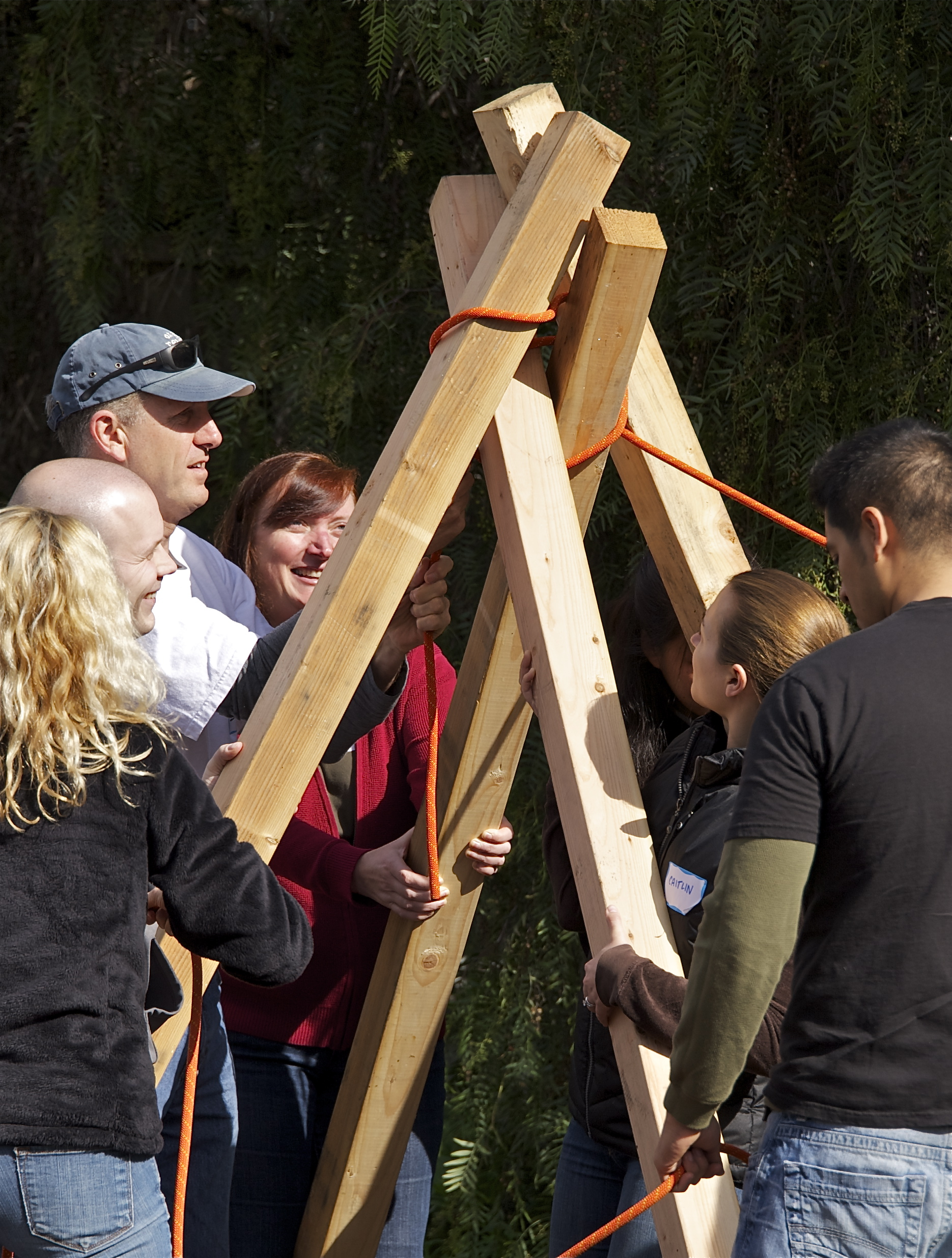 Corporate teamwork low ropes.jpg