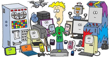 Sounds Like a Game Changer: A soon-to-be obsolete collection of technology cartoons by Jim (click to pledge)