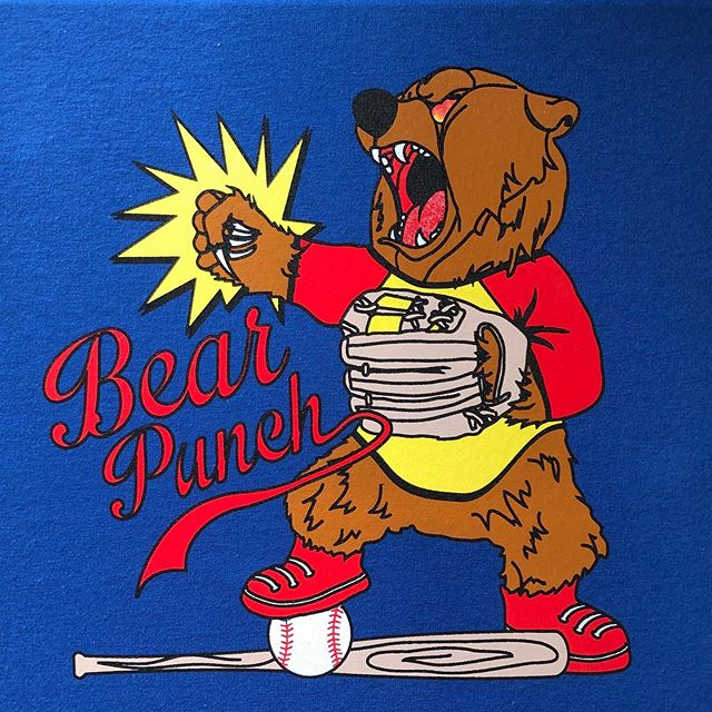 Aw yes, the ol' Monday morning Bear Punch. Classic.