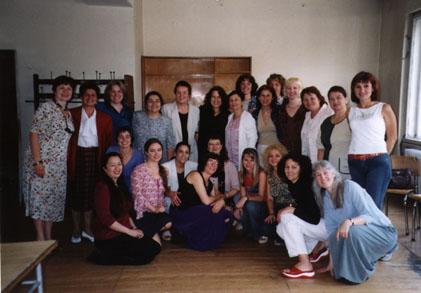 Kitka & Le Mystere des Voix Bulgares in Sofia, Bulgaria 2002
