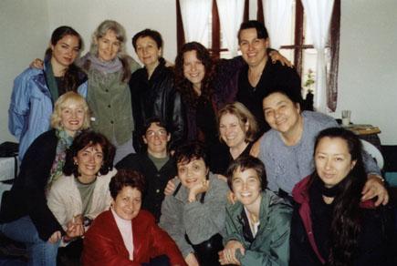 Kitka with Le Mystére des Voix Bulgares in Kovachevtsi, Bulgaria 2002