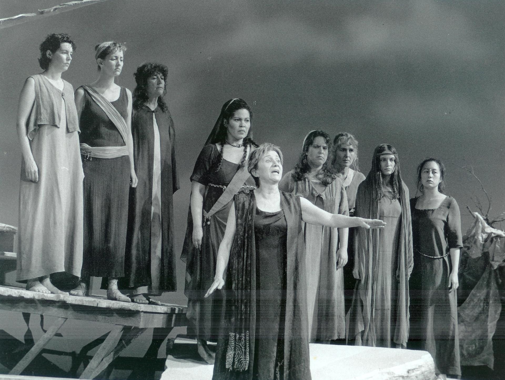 ACT Production of Hecuba 1998 with Olympia Dukakis