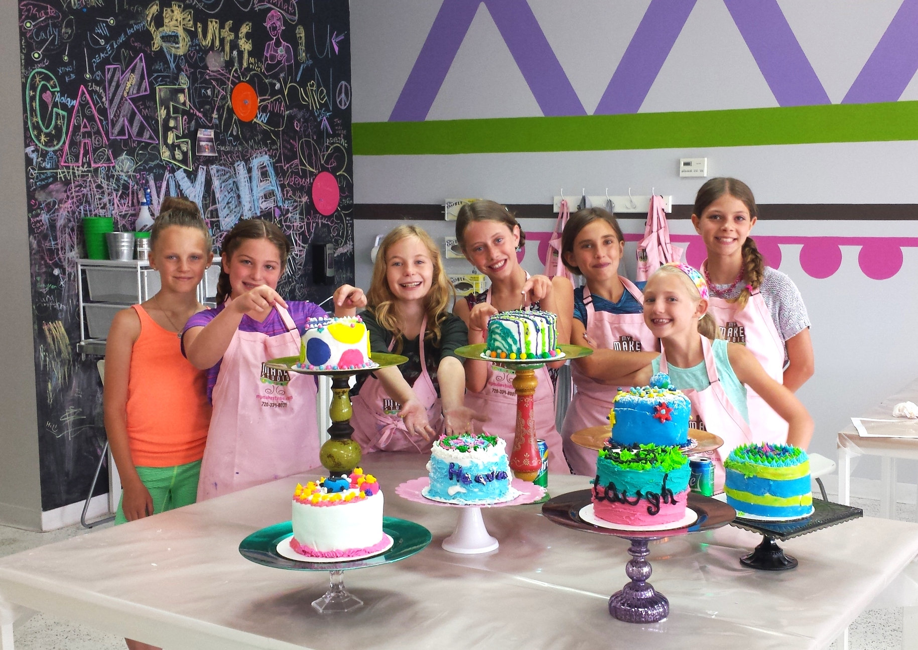 Enjoy a little competitive fun with friends at a  CAKE BATTLE PARTY .