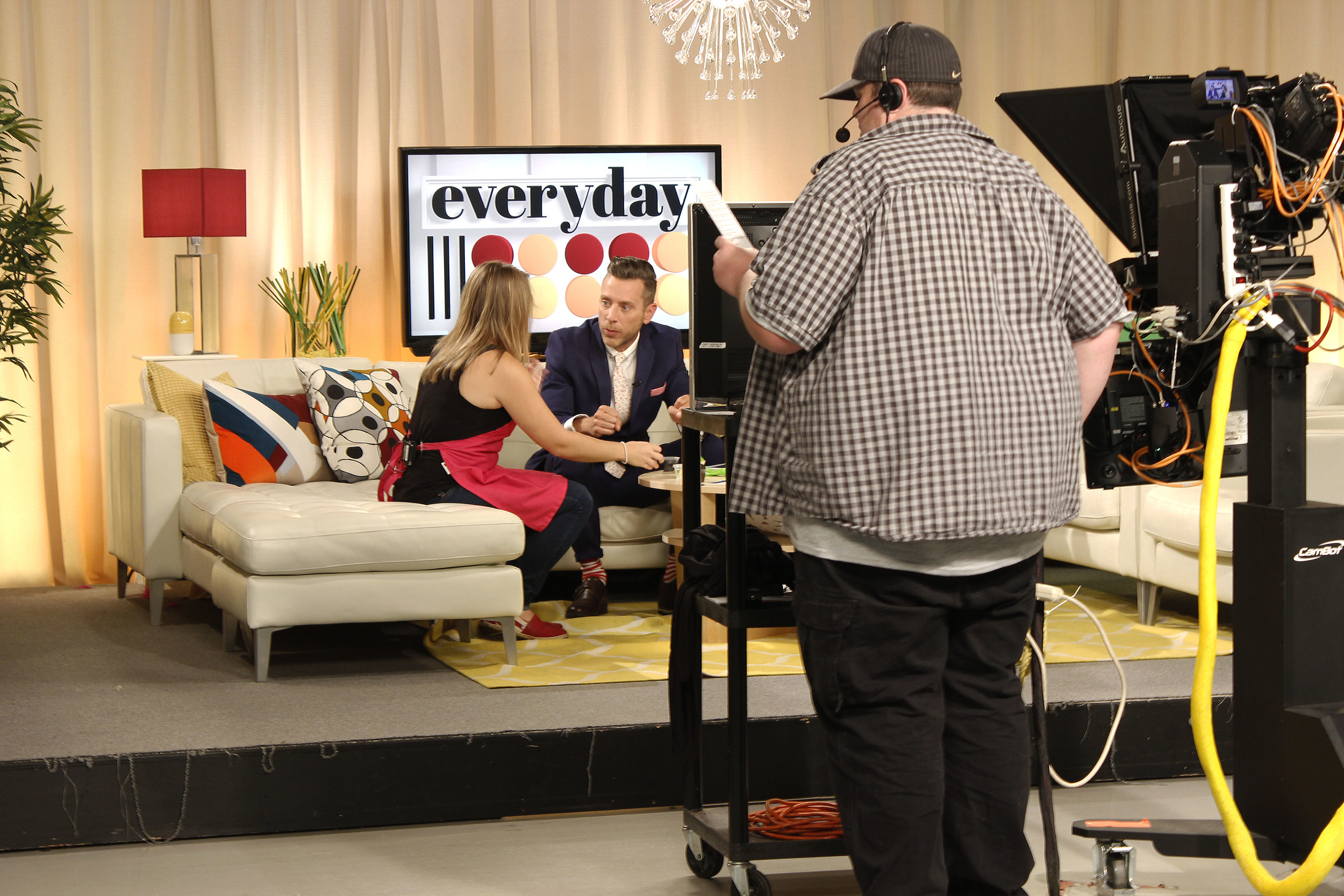 "Linda on the ""Every Day"" Show"