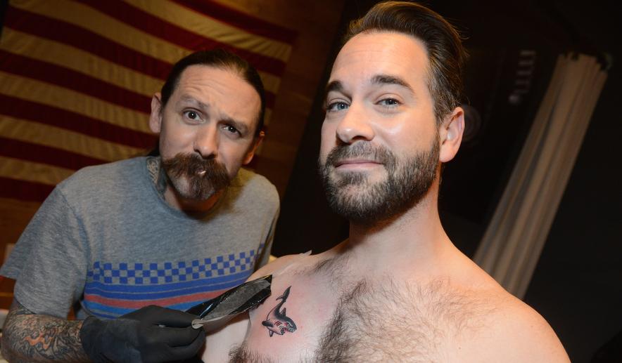man's first tattoo