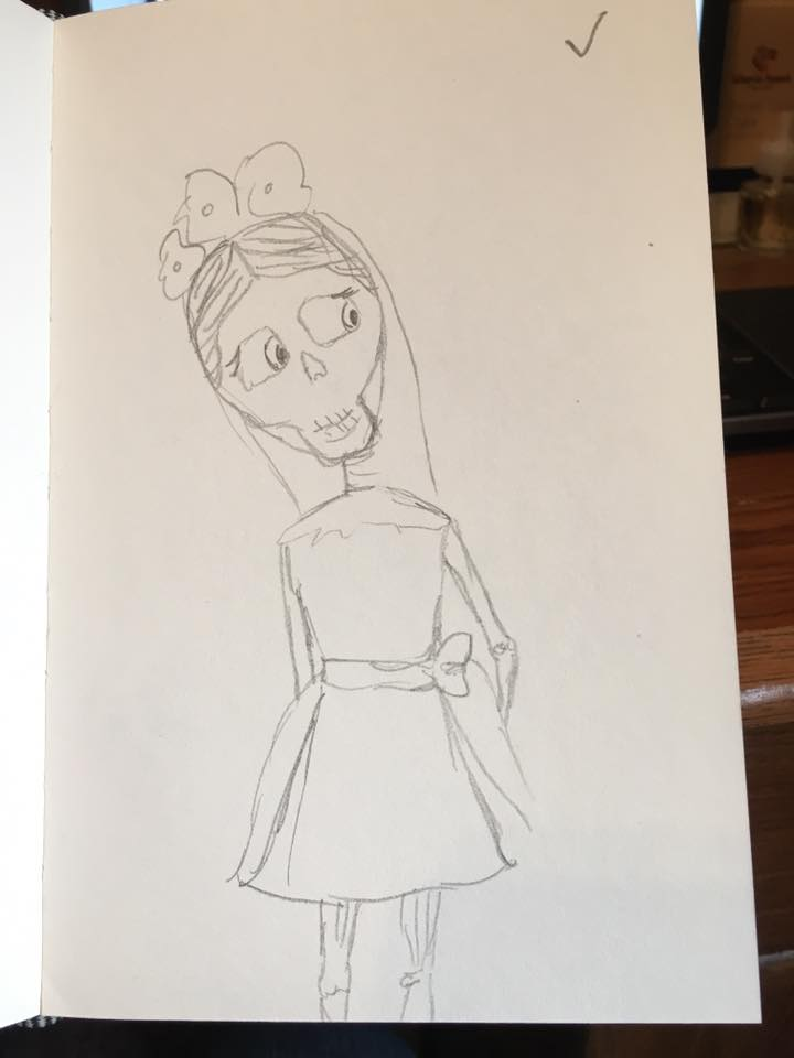 First Skull Sketch