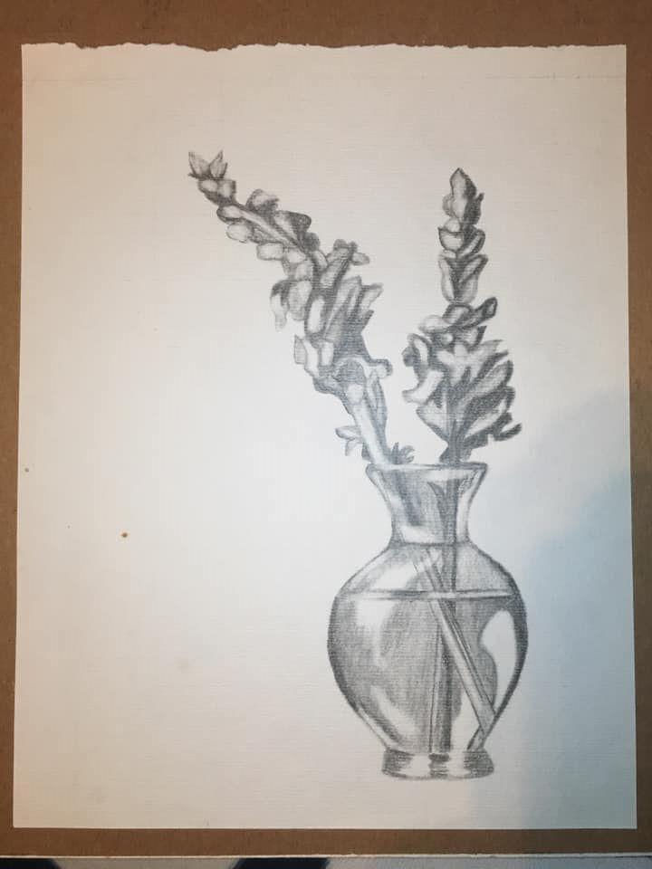 Flowers in vase, 2006
