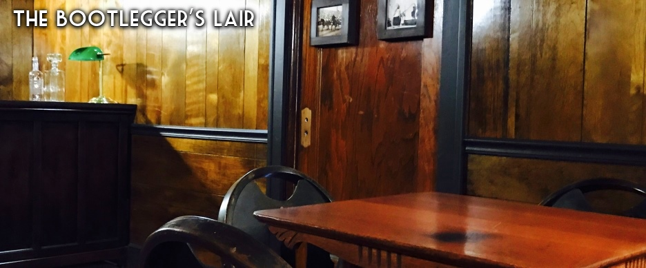 The Bootlegger's Lair escape game is our most challenging and authentic - set in 1925. It took us 7 months to create this one-of-a-kind escape room!