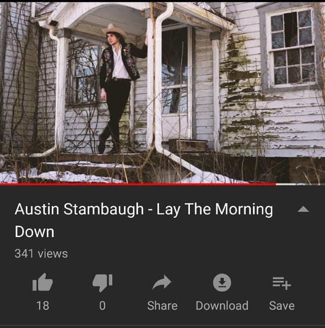 "Hey folks on the Instagram. I put out a sweet little tune about a month ago called ""Lay The Morning Down"". I think it is perfect for the weather warming up and give it a listen if you haven't heard it yet.. link below:  https://youtu.be/X87J561_KDg  It's all home done and mixed and videod by dear friends of mine.. new things on the way and exciting dates to announce!"