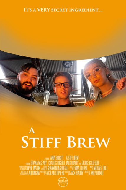 "Michael Teoli recently scored Andy Burkitt's short film, ""A Stiff Brew""."