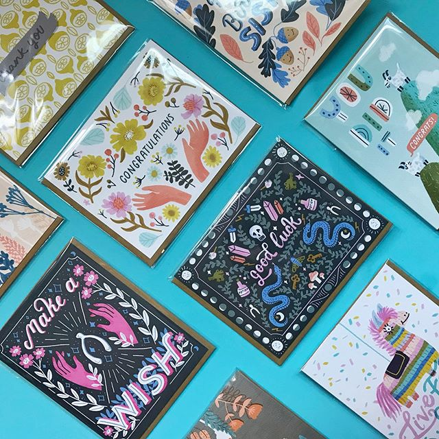 Packing up some of our favorite cards in preparation for the #risdcraft show next Saturday (October 12th down on Benefit st)