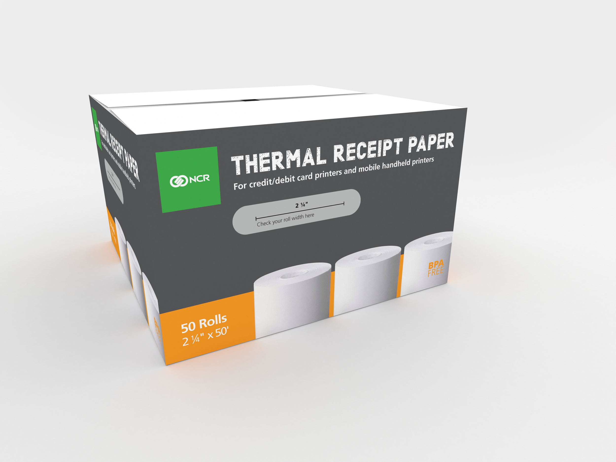Ncr Paper Roll Packaging Tess Perez