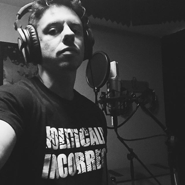 Finishing up some vocals today for a song called Big Show Machine - #recording #music #recordingstudio #vocals #band #blackandwhite #saturday #picoftheday #pcpolice #blackcamera2018 #nyc #nycband #recordingmusic #vox