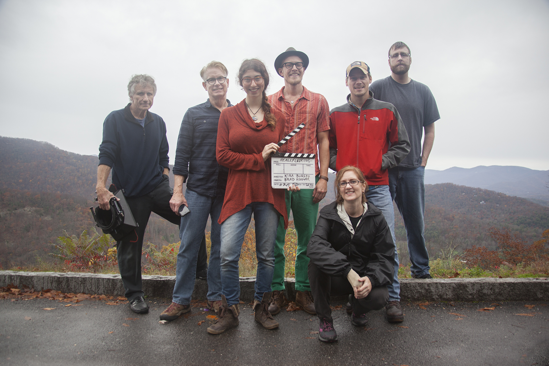 Filming for Massada, full cast and crew for Day 1.