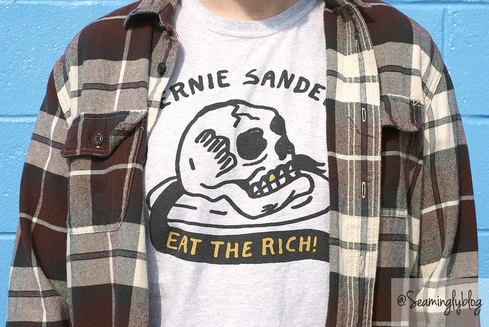 bernie sanders has a posse eat the rich eric kenney heavy slime