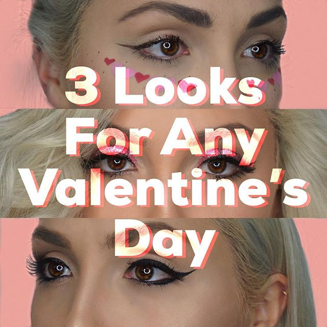 💕Happy Valentine's Day lovers💕These 3 looks are up on the blog now! Find your perfect match, and get ready for vday! Link in bio to read ❗️❗️❗️ . . . . . #thalittlelion #valentinesdaymakeup #makeupvids #makeuphowto #valentinesdaygifts #valentinesday2018 #valentinesdayweekend #vdaymakeup #vdayweekend #wakeupmakeup #makeuplookoftheday #makeupvlogger #sephoragirls #beautyinsider #vibrogue #nyxmakeup #nyxlover #hairgoalsaf #lifestylebloggers #bbloggersca #losangelesmodels #influencers #influencermarketing #bloggersca #influencer #influencermarketing #seaminglyblog