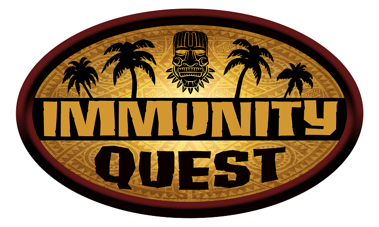 IMMUNITY QUEST - Your tribe has been marooned on a deserted island. The only other inhabitant of the island is a treasure seeker. He has a boat, but requires payment. Your group must work as a team to solve puzzles and riddles, while searching for the priceless immunity idol, as it is the only payment accepted for your ride.Can you find the idol in 30 minutes?Immunity Quest is a 30-minute game, designed for up to 6 players.