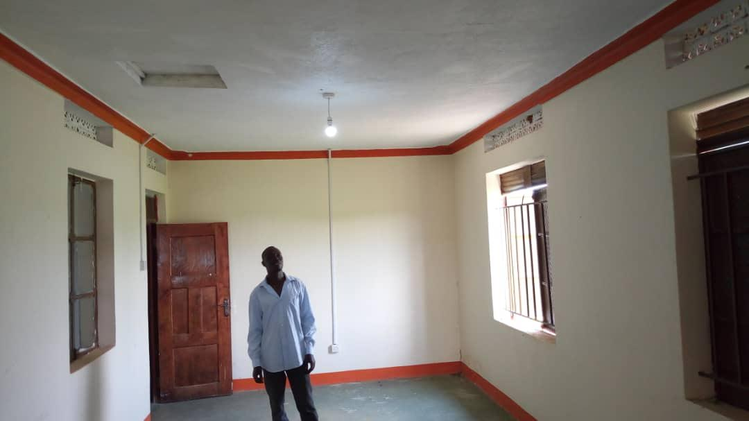 Charles in amazement of the first light bulbs at The Alwa Foundation